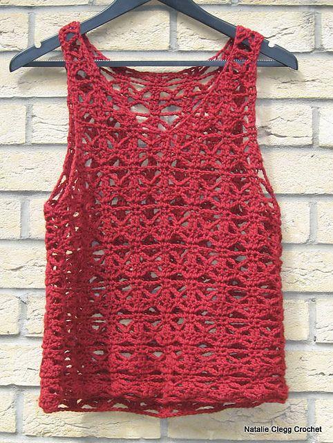 Ravelry: 26-672 Crochet Vest pattern by Pierrot (Gosyo Co., Ltd)