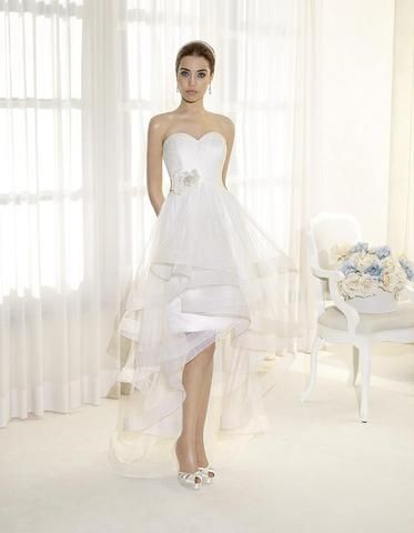Delsa Fashion abito sposa corto