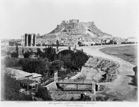 The Bridge in front of Kallimarmaron Stadion Athens Greece #hellas #stadium http://www.vintag.es/2015/01/25-vintage-photographs-of-athens-in.html