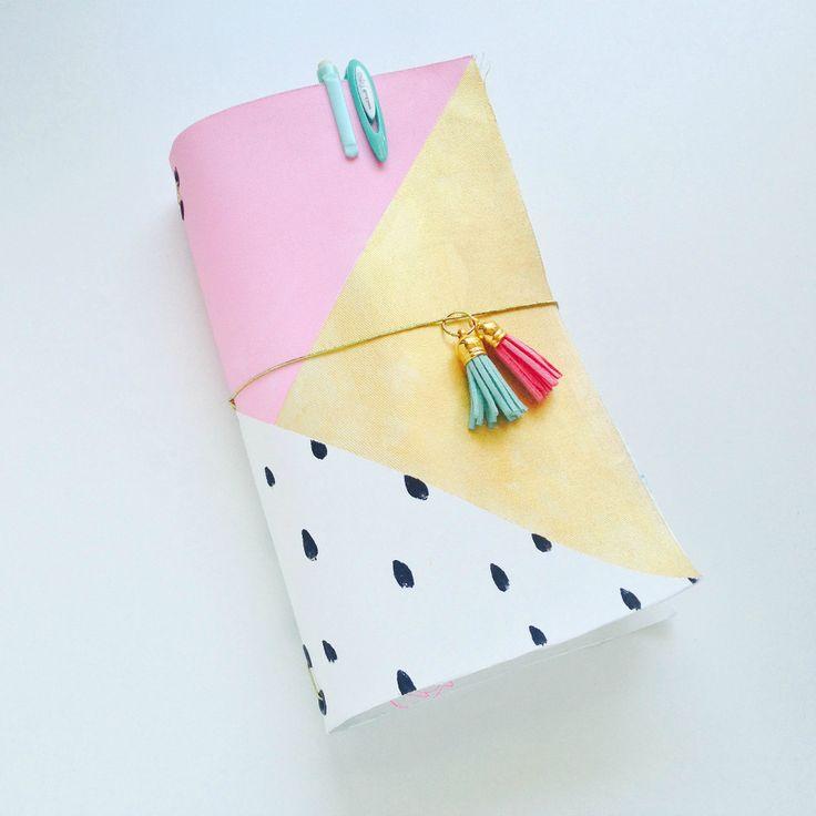 DIY Midori de Tela o Fabricdori (Kimidori)
