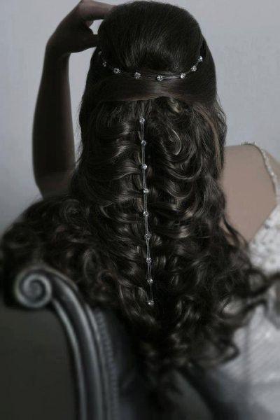 Gorgeous Medieval Wedding Hairstyle