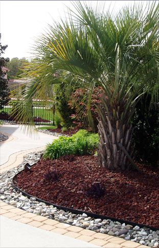 Landscaping With Mulch And Rocks | Landscaping Rock, Virginia Beach