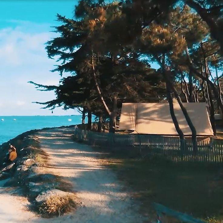 Verblijf op de camping in Vendée in het bos aan de rand van de oceaan. Geniet van uw verblijf dankzij de directe toegang tot het strand