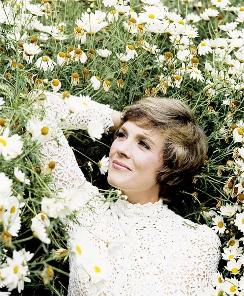 Julie Andrews.  So beautiful and classy, and will always be my favorite actress. Ever.