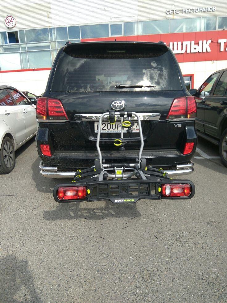 Toyota Land Cruiser  BuzzRack spark 3 #rackworld #whispbar #yakima #Inno #Thule #Atlant #Lux #Buzzrack #автобагажник #автобокс