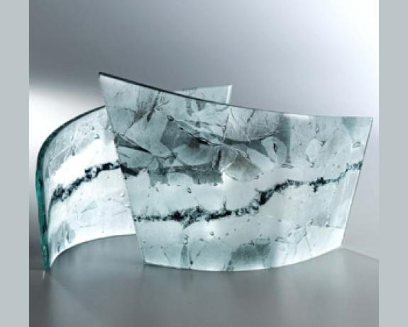 78 best images about fused glass on pinterest for Recycled glass art