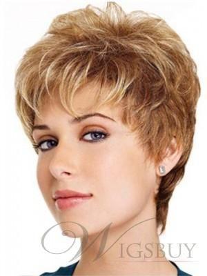 Aspire Petite's Beloved Hair Style Short Blonde Wig