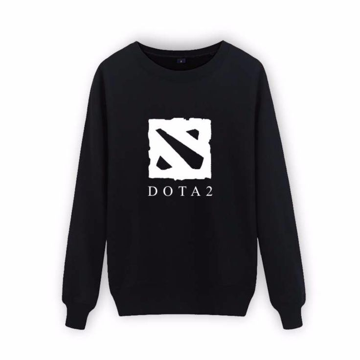 Game Dota 2 Cartoon Black Cotton Sweatshirt Hoodies Winter Warm Street Wear High Quality Hip Hop Hoodies Oversize Anime XXSXXXXL