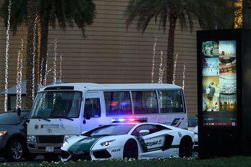 Lamborghini Police Car Rolls Out in Dubai - Drivers Seat - WSJ