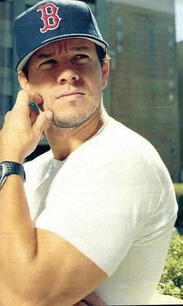 Mark Wahlberg. I would marry him in a heartbeat! I love any movie he is In, big fan since I was 8!!
