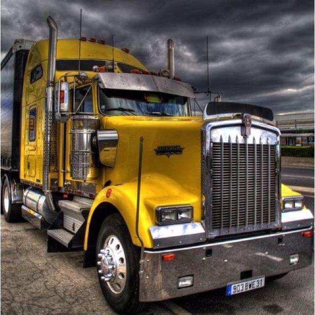 Kenworth. Trucking.Camion, Nice Trucks, Big Rig, 640640, Semi Trucks, Awesome Trucks, Kenworth Trucks, Yellow Kw, Big Trucks