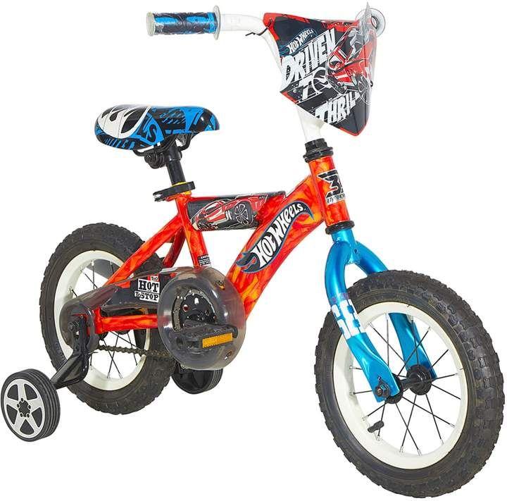 Kohl S Boys Hot Wheels 12 Inch Wheel Turbospoke Bike With Training