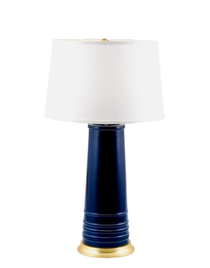 Oomph - nantucket lamp - Silver base