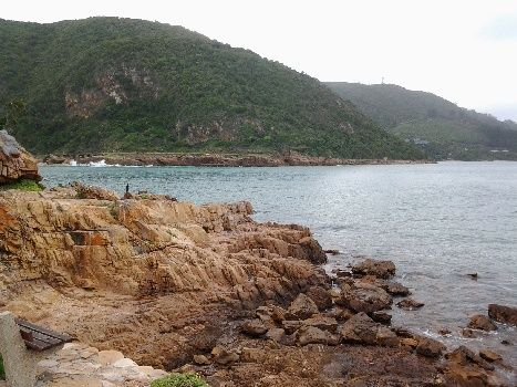 The Knysna Heads are a must for sightseers and photographers, Garden Route