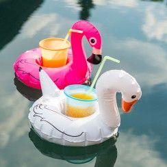 Nieuw - Set van 3 zwemmende vogel bekerhouders - Pimp Your Pool.