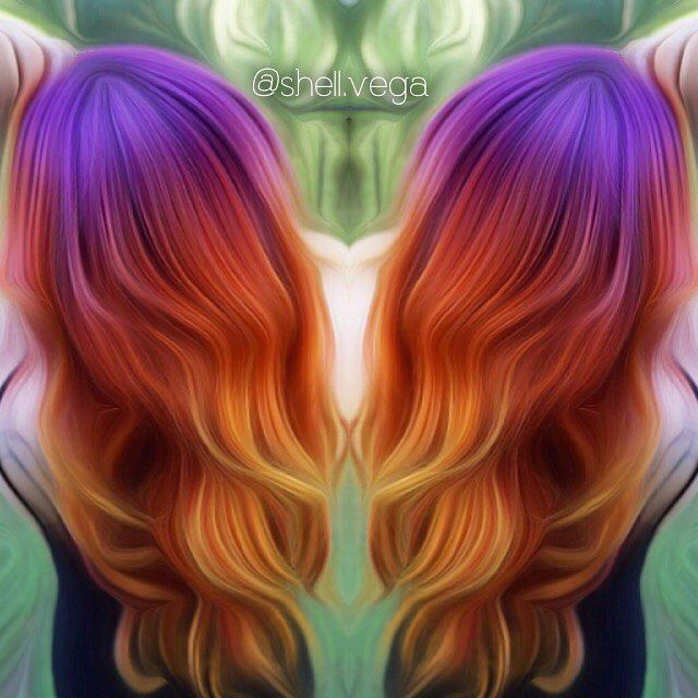 51 best hair images on pinterest hairstyles colorful hair and sunset hair more urmus Image collections
