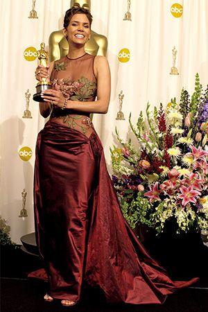 ハル・ベリー/女優 初めて黒人女優がアカデミー主演女優賞に。