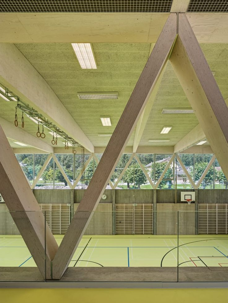 Spoerri Thommen Architekten, Roger Frei · Sports Hall Linthal