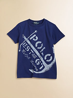 Ralph Lauren Toddler's & Little Boy's Nautical Tee
