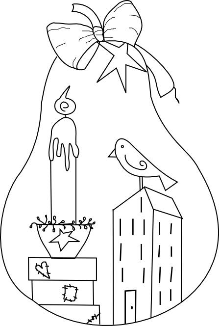 Beyond the Fringe Crafts: Prim Pear Free Digi, and bonus Truffula Tree!