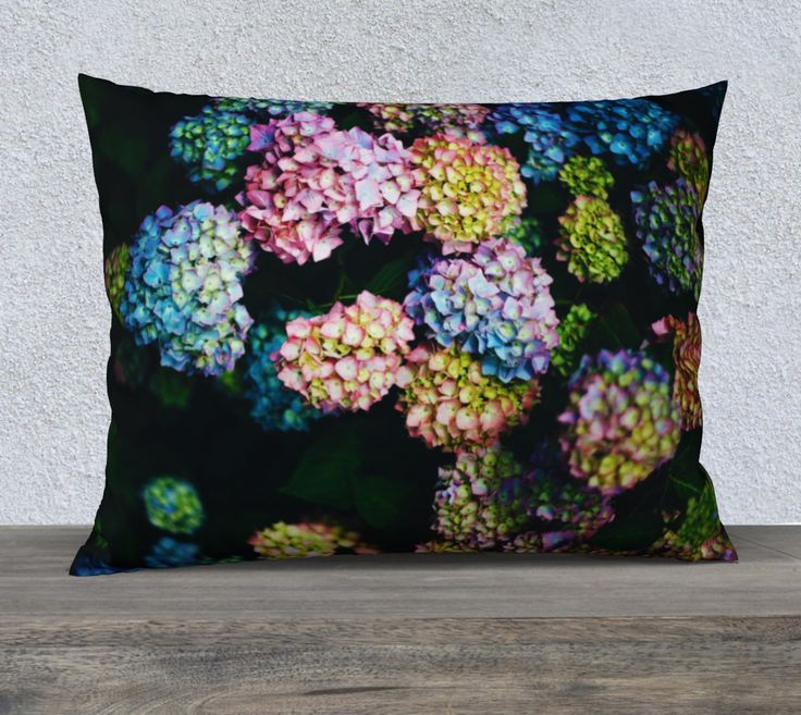 """26""""+x+20""""+pillow+""""Bellissimi+Fiori""""+by+Mixed+Imagery"""