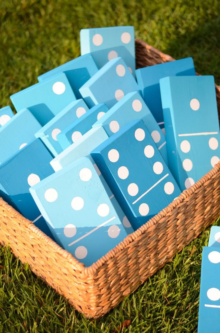 DIY Lawn Dominoes | 25+ Yard Games | NoBiggie.net