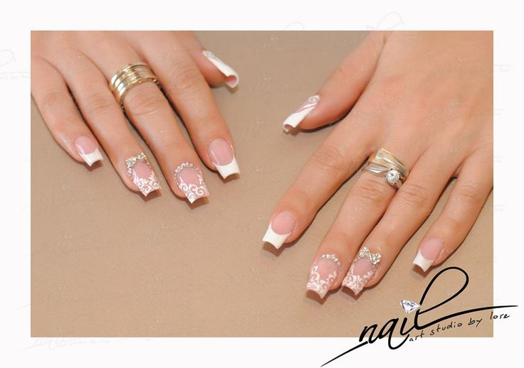 nails  perfect french design