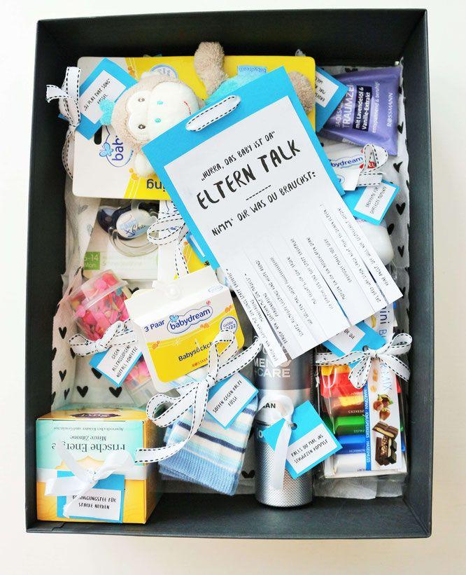 Ein kreatives und praktisches DIY Geschenk Idee zur Geburt basteln