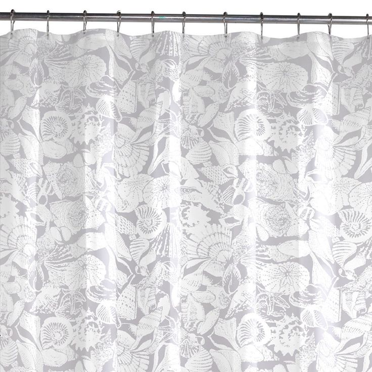 amazoncom maytex sea shells peva shower curtain maytex seashell shower curtain
