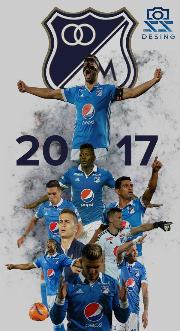 Millonarios FC, el equipo del pueblo bogotano. 2017 #Millos #Futbol SS Desing.