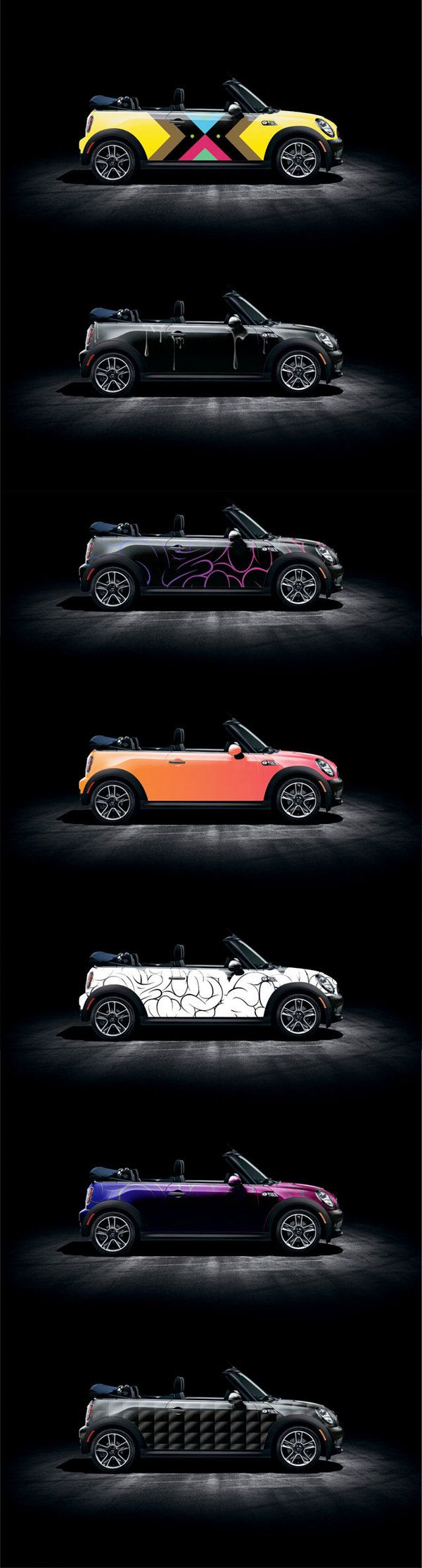 Cabriolet Mini Cooper modern body design - App for Mini Cooper Warning Lights available in App Store http://Carwarninglight.com