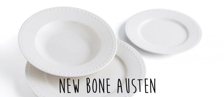 Te presentamos una #vajilla de #porcelana muy resistente, ideal para las ocasiones especiales: New Bone Austen, de #Quid