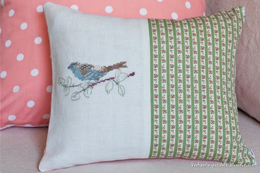 Летние подушки / Summer pillows - Вечерние посиделки