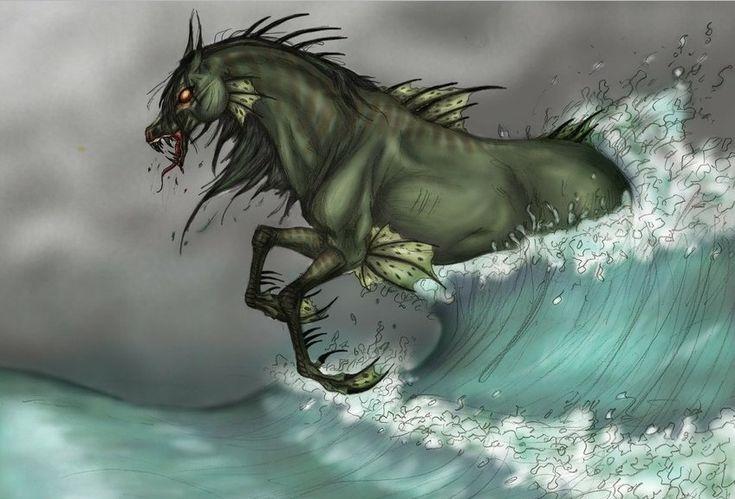 É um cavalo Kelpie mitológico muito parecido com água, que já falamos. Muitos a consideram como a criatura mais perigosa na água e com a capacidade de mudar de forma, tendo a aparência de um belo cavalo, um cavalo ou um homem bonito. Se uma pessoa monta Cada Uisge apenas ser seguro se o cavalo é mantido no chão que se ele entrou na água para ser essa pessoa. A pele do cavalo torna-se adesivo e este se arrasta a pessoa para as profundezas do mar. Depois de se afogar sua vítima a cada…