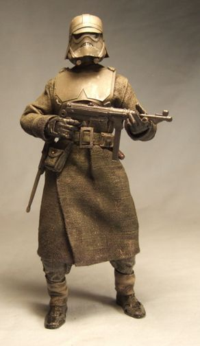 Star Wars 1942 - I've seen steampunk Star Wars concepts, but this is new to me.