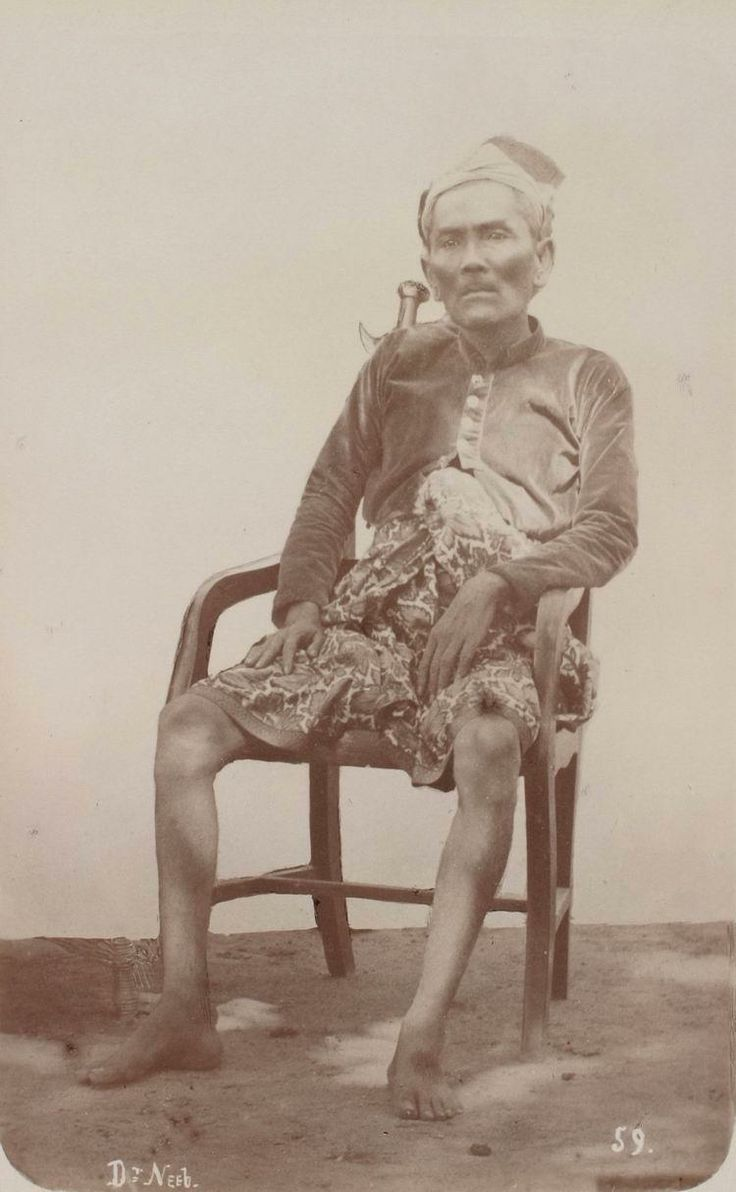 Goesti Djilantik on Lombok, governor of Karangasem Bali on behalf of the prince of Lombok, Lombok during the First Expedition 1894