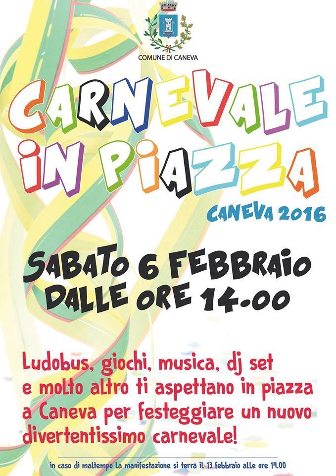 Carnevale in Piazza a Caneva