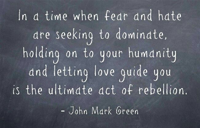 Quote about letting love guide you by John Mark Green #johnmarkgreenpoetry #johnmarkgreen