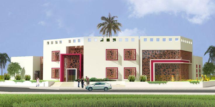 ARK - KASSAM | Architectural & Engineering Consultations | Projects | Kinder Garten in Qatar