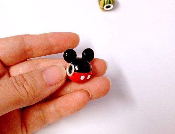 Hole Size : 0.5 cm Diameter (This European style Large hole Beads can put on Pandora bracelet )  Materials: polymer clay