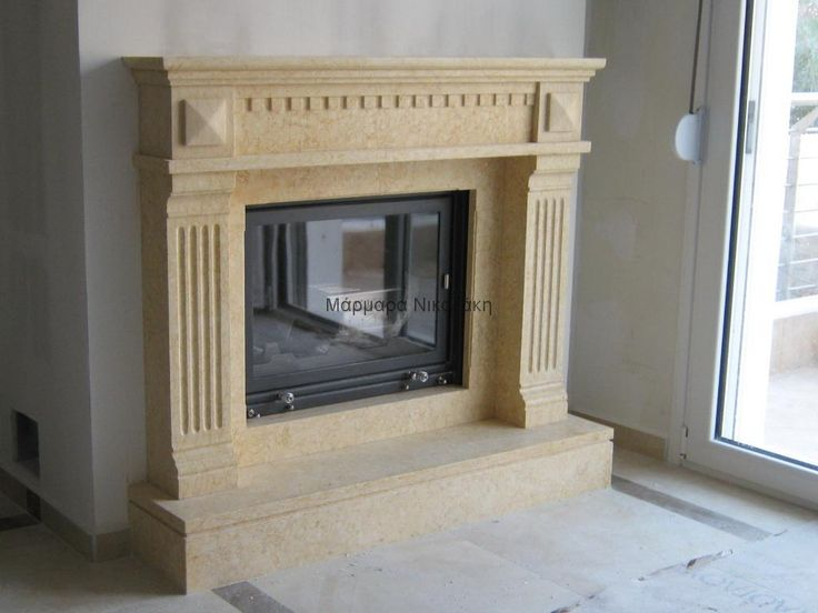 Fireplace Sunny Marble. Contact: sales@marmara.gr