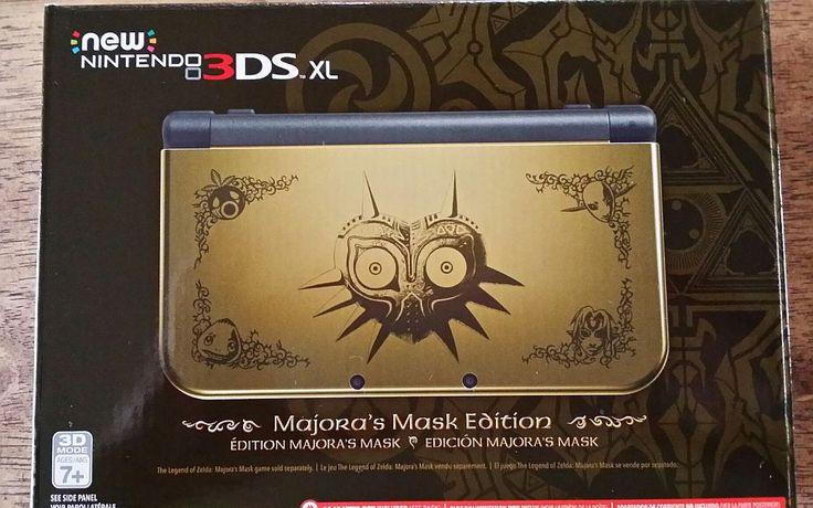 Edição de Colecionador - Todas as edições de Zelda - Collector's Edition Limited Design - 3ds majoras mask