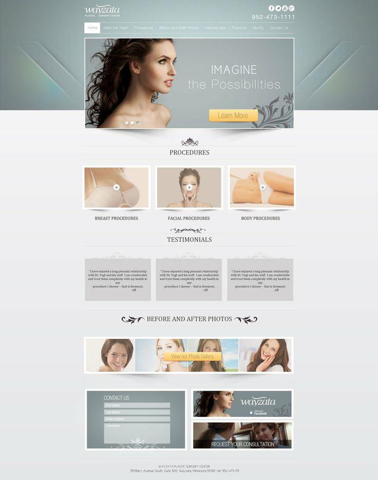 Cosmetics Web design by Chimpkiddo