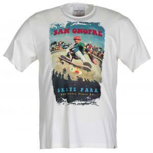 Max Fort T-Shirt Uomo Girocollo, Mezza Manica, Stampa Sul Davanti Tessuto 100% Cotone Prodotto Da Maxfort  - Euro 31.41