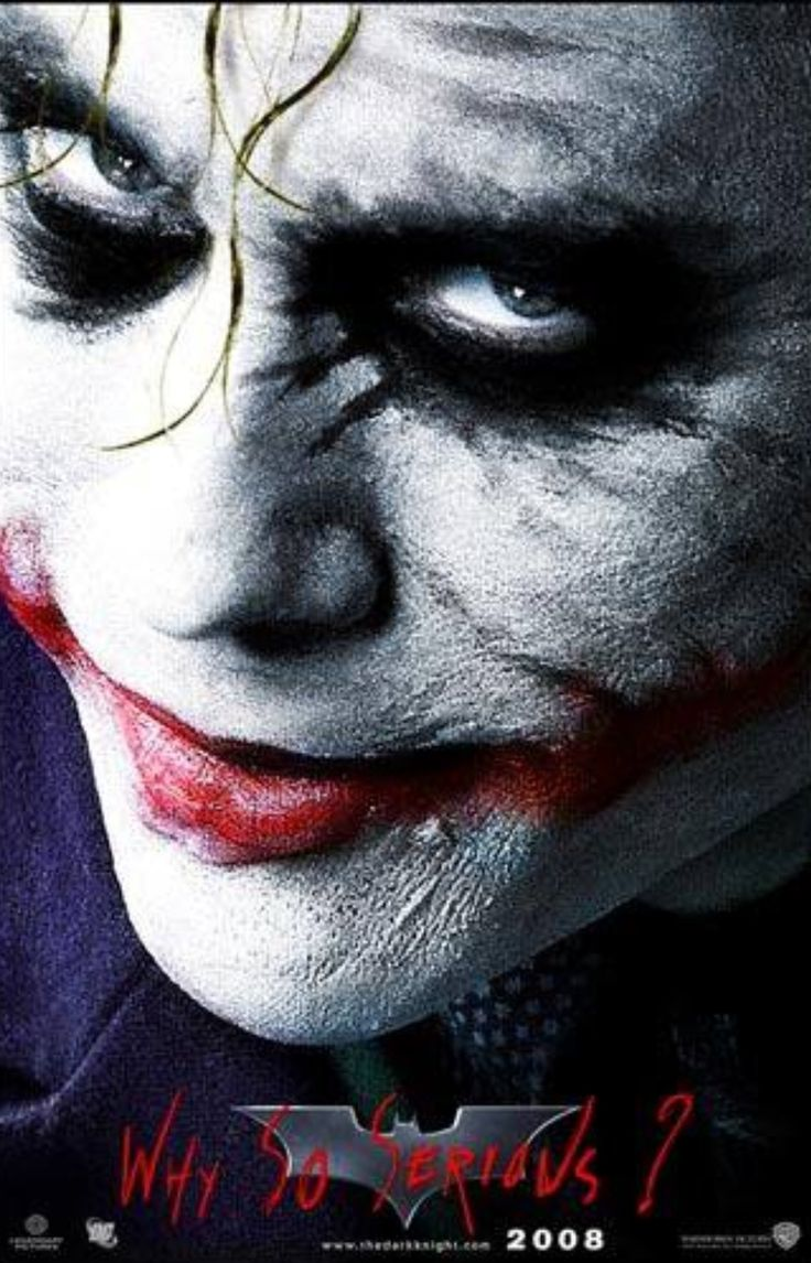 The Joker;  Nolan's Batman.