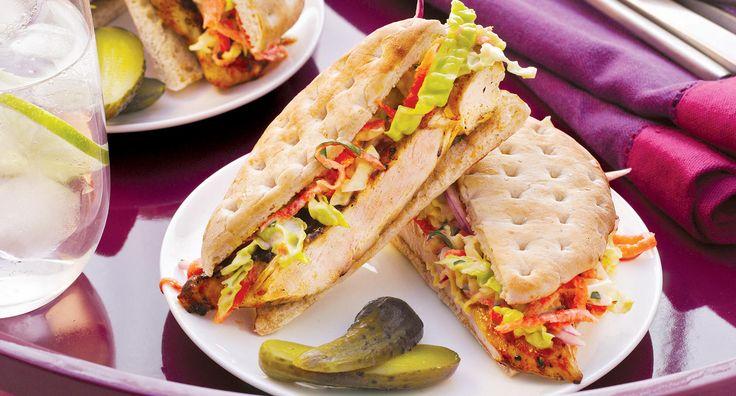 Sobeys | BBQ`d Honey Garlic Grilled Chicken Sandwich with Creamy Coleslaw