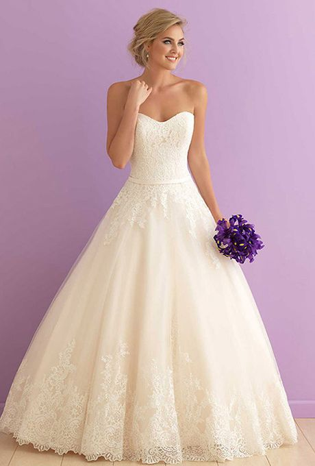 Brides: Allure Romance. Classic is the best word we can use to describe this ballgown.