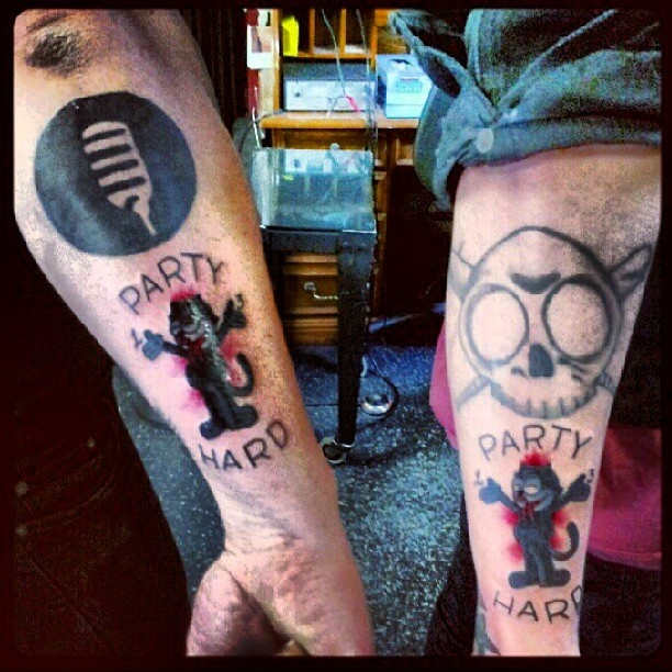 Pin By Andrew Wagner On Tattoo Designs: 18 Best ANDREW W.K. FAN TATTOOS Images On Pinterest