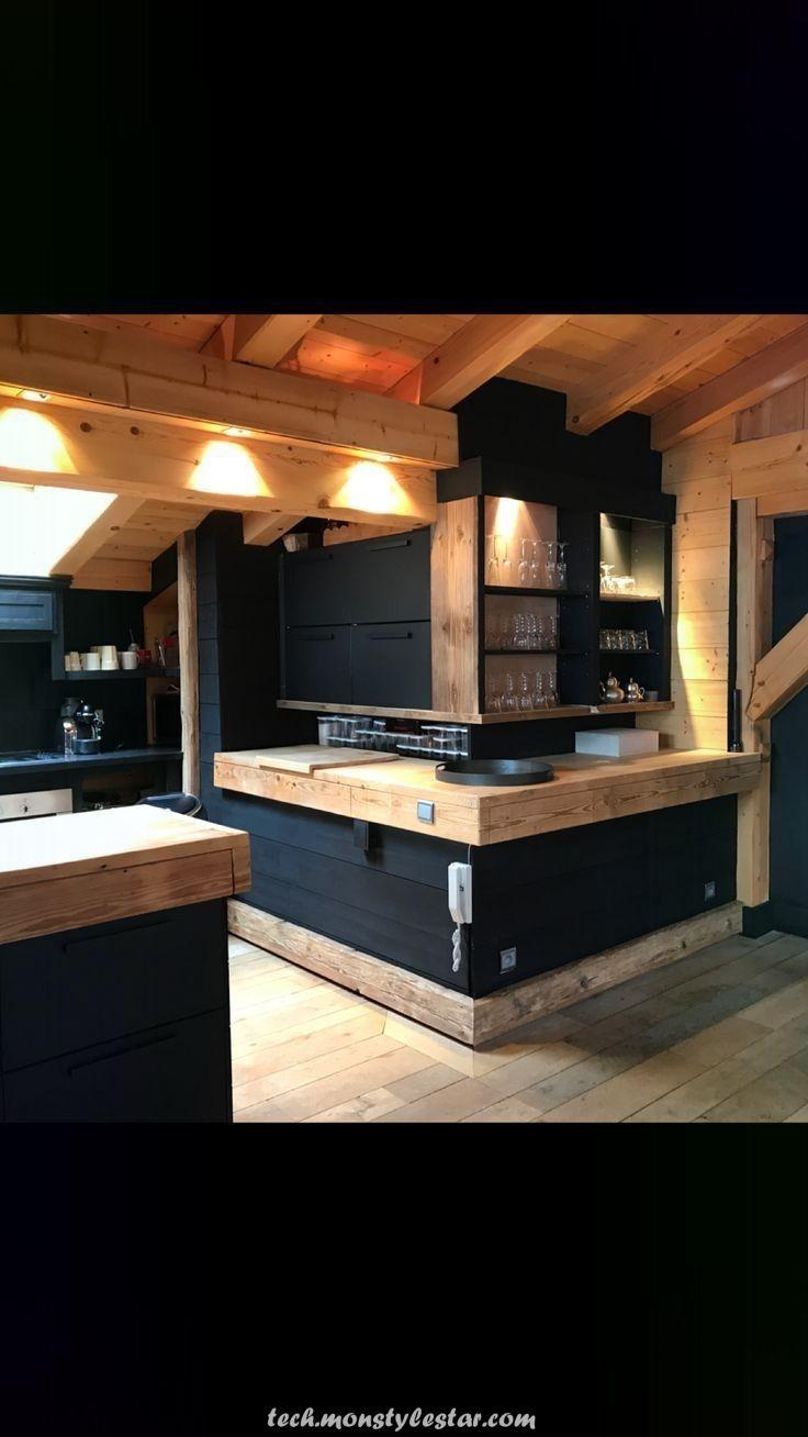 Magical Wooden And Black Black Wooden V 2020 G Interery Kofejni Dizajn Doma Derevyannye Doma