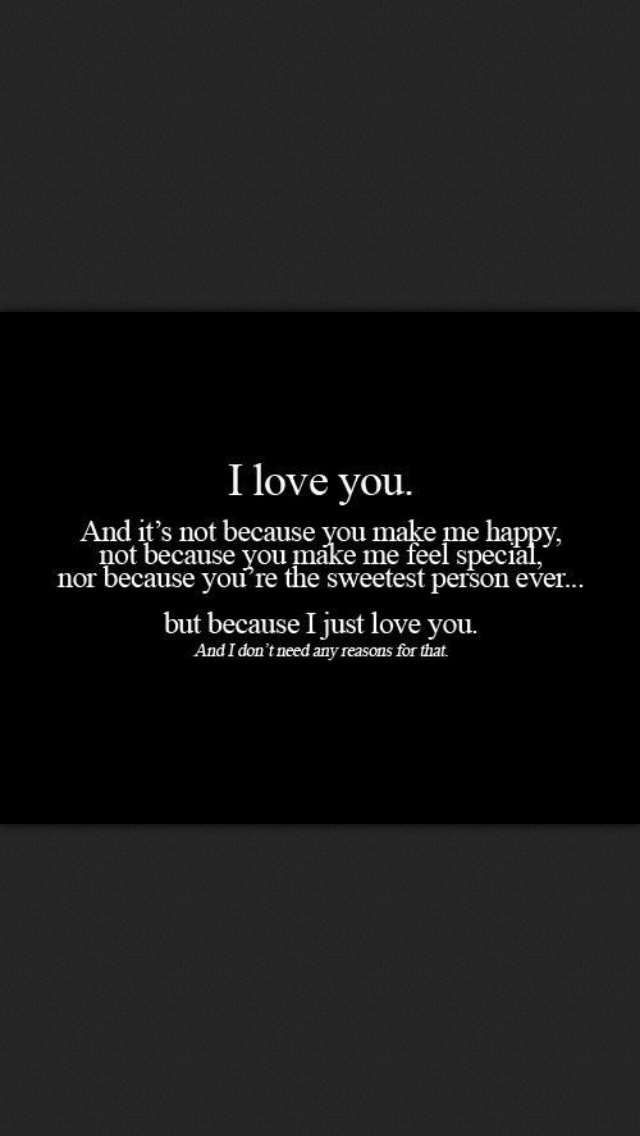 I Love You Quotes Pinterest : love you
